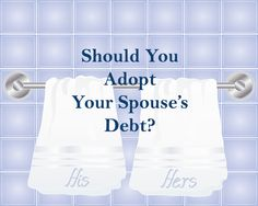 Learn about joint debt and how it could affect you.  #debt #marriage #hoyesmichalos