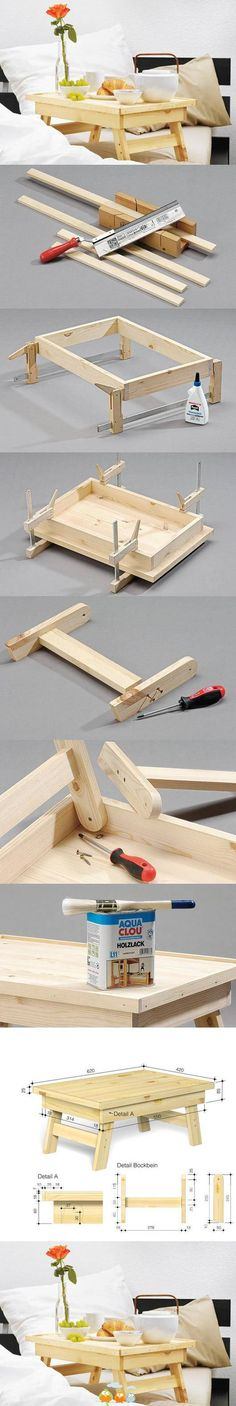 Do It Yourself Collapsable Tray