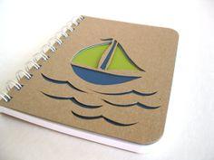 Eco Sketchbook Nature Inspired Medium Hand Carved by thenaturewalk, $14.00