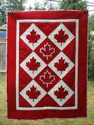 Canada quilt I would proudly hang this on my wall !!