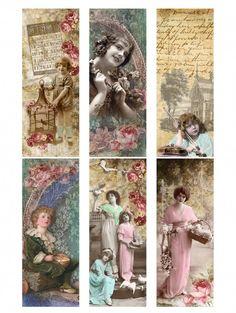 Sheet boekenlegger romantiek | ~Shabby chic | Nostalgie & Brocante