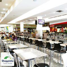 Comodidade e opções para comer, você encontra aqui no Shoppinho Santo André! Venha almoçar aqui conosco!   #praçadealimentação #shoppinhosantoandré #euamosantoandré