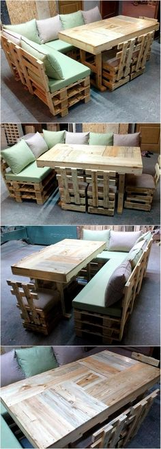 wood pallet sofa and couch ideas 6