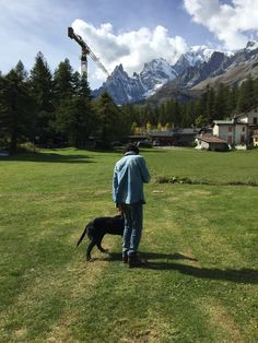 Lavorare in Val Ferret...