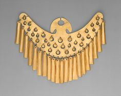Nose Ornament, 1st-7th century. Colombia, Calima culture. Gold. The Metropolitan Museum of Art, New York. Gift and Bequest of Alice K. Bache, 1966, 1977 (66.196.23). #gold