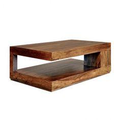 Couchtisch Quebec 120x70 Antik Holz Mobel