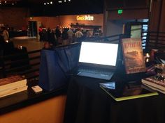 [October 25, 2013] Booktrope table at GeekWire Startup Day.