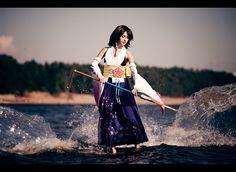 "Best Yuna shot I've ever seen! :) ""Yuna's water dance"" by Alina Arwen"
