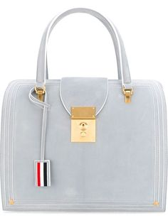 f4e5507d0d49 THOM BROWNE Mrs Thom With Cricket Seam.  thombrowne  bags  leather  hand