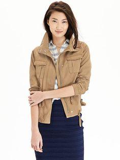 Women's Canvas Field Jackets