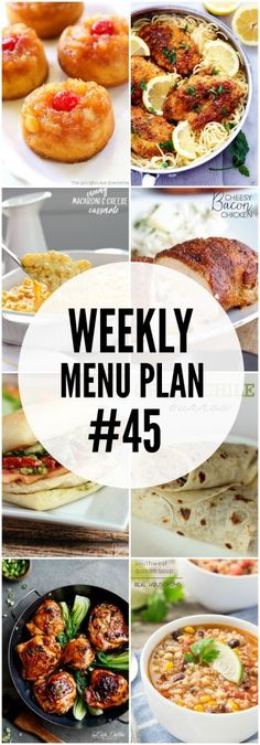 A delicious collection of recipes to help you create your weekly menu plan. Meal Planning Board, Weekly Menu Planning, Family Meal Planning, Planning Budget, Family Meals, Group Meals, Family Recipes, Frugal Meals, Easy Meals