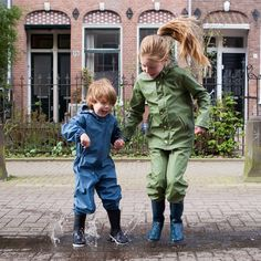 Tainwear by Gosoaky ☔ Rain Wear, Harem Pants, Instagram Posts, Kids, Clothes, Fashion, Young Children, Outfits, Moda