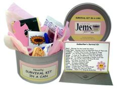 Godmother Survival Kit In A Can. Novelty Fun Gift - Humorous Godparent All In One Thank You Present & Card. Christening/Baptism/Naming Day Thankyou From A Godson/God Daughter. Customise Your Can Colour. by Jemsideas, http://www.amazon.co.uk/dp/B007UJTQHW/ref=cm_sw_r_pi_dp_KIz1sb04VGE2D