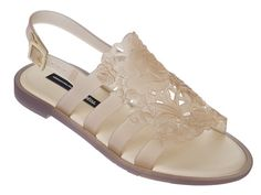 12ac0c682 A new take on the perfect vacation shoe - the Boemia Flower sandal from  Melissa, in collaboration with Brazilian designer Alexandre Herchcovitch.