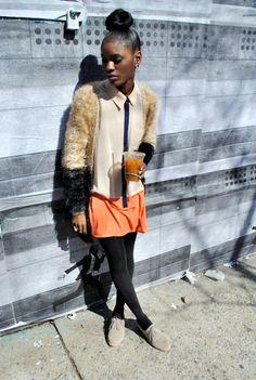 mickeyvin:  i fuckn love this look n her    Black Girls Killing ItShop BGKI NOW