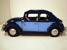 Full size VW  Beetle made of Legos .  FULL SIZE?