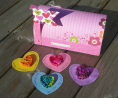 Valentine Boxes   simply-thisnthat...and crayons