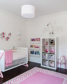 Modern Pink Nursery from @SissyandMarley