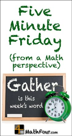 Five Minute Friday meets 50 Word Friday. And the prompt is GATHER! #FMFParty