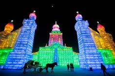 Harbin china ice festival - awesome!!!