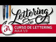 Lettering sem complicação - Aula 1/3 - Curso Grátis de Lettering - YouTube