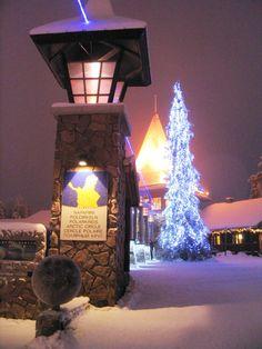 vista villaggio Babbo Natale