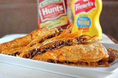 Cheeseburger Quesadillas Recipe For gluten free, use corn tortillas & read all processed food ingredients to insure they don't contain hidden guten.
