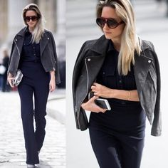 Look incrível da Charlotte do @thefashionguitar  Um pretinho básico com um óculos Valentino super estiloso!  #oticaswanny #charlotteg