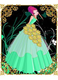 Flower Princess Roxy by Bloom2.deviantart.com on @DeviantArt