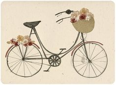 dream bike. by Clare Owen Illustration, via Flickr