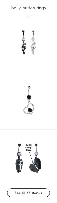 """""""belly button rings"""" by lovelife-208 ❤ liked on Polyvore featuring jewelry, batman, accessories, piercings, belly rings, dangling jewelry, belly button rings jewelry, belly ring jewelry, surgical steel jewelry and gemstone jewellery"""