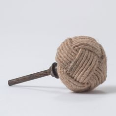 Rope Knot Knob in House+Home HOME+DÉCOR Room Décor Hooks+Hardware at Terrain
