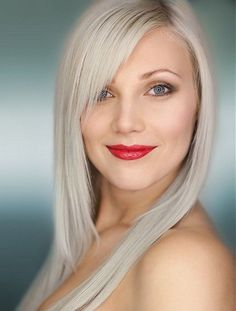 grey is the new blonde | Ashy gray platinum | Silver is the New Blond