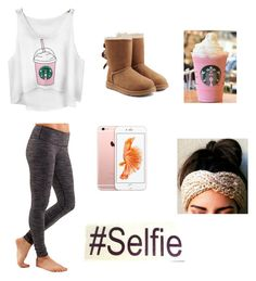 """""""Halloween costume idea 1- Common white girl """" by crowthertaniya ❤ liked on Polyvore featuring lululemon and UGG Australia"""