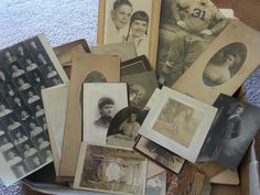 A box FULL of vintage photographs for $10!!! THIS is a great #fleamarkethaul