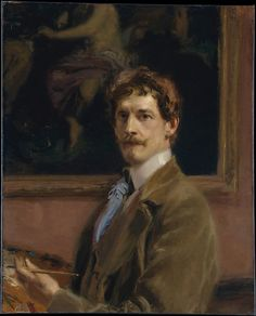 Frederick William MacMonnies (American, 1863–1937). Self-portrait, ca. 1904. The Metropolitan Museum of Art, New York. Purchase, Mrs. James W. Fosburgh Gift, 1967 (67.72) #mustache #movember