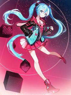 hatsune miku, vocaloid, and anime image Chica Anime Manga, Manga Girl, Anime Art, Sad Anime, Anime Neko, Kagamine Rin And Len, Kaito, Kaai Yuki, Vocaloid Characters