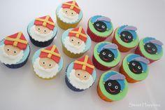 How To Sinterklaas en Zwarte Pieten Cupcakes