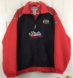 Coat NASCAR Checkered Flag Sports Martinsville Nextel Cup Racing Series Size L #CheckeredFlagSportsMartinsville #NEXTELCupSeries