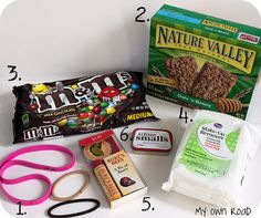 hospital survival kit for a mom to be...such a cute shower gift idea
