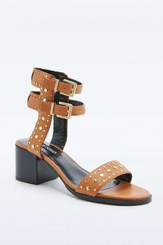 Senso Jille Studded Tan Strappy Sandals