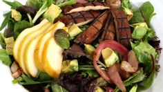 A filling salad that is vegan, gluten-free, soy-free, refined sugar-free and grain-free.