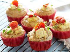 Grove muffins med kremost
