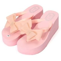 5ce5ed004 Butterfly Knot Platform Clip Toe Beach Slippers sells at a wholesale price.  More other womens slippers also sell at a wholesale price Mobile.