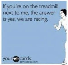 Thinking Out Loud - Treadmill Racing - The Cookie ChRUNicles #running #treamdmill #racing #fitness