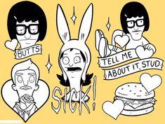 Bob's Burgers Tattoos, Valentine's Day