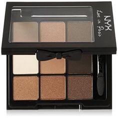 NYX Cosmetics Love In Paris Eye Shadow Palette Parisian Chic, 0.028 Ounce