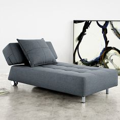 Modern sofa bed Big things e in small packages apartment guide Pinterest