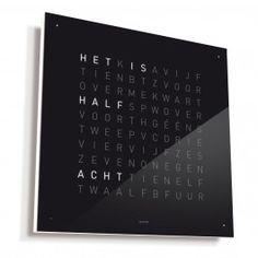 Qlocktwo Classic Klok Biegert & Funk Nederlands | MisterDesign