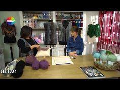Alize Angora Gold Batik ile Yelek Yapımı - Vest with Alize Angora Gold Batik - YouTube